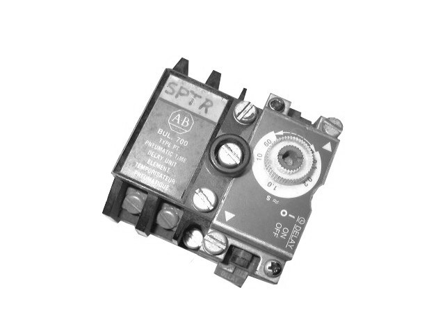 700-PT -A/B  PNEUMATIC TIMING RELAY