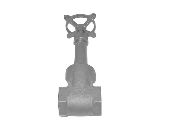 STOCKHAM 1-1/2- NPT GATE VALVE