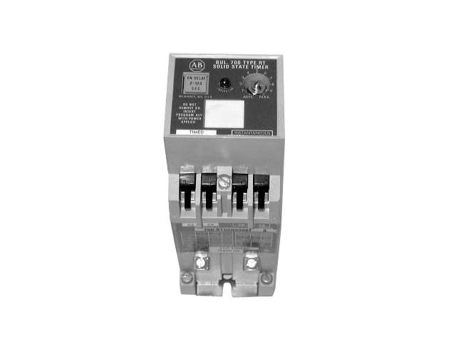 ALLEN BRADLEY TYPE RT SOLID STATE  TIMING RELAY