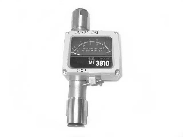 BROOKS MODEL MT 3810 VARIABLE AREA FLOWMETER