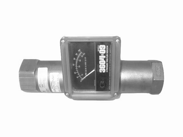 BROOKS FLOW METER - 3604ED1A2A1A