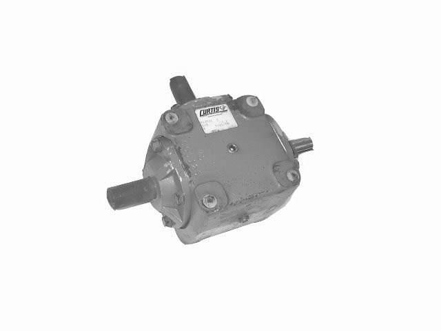 CURTIS RIGHT ANGLE DRIVE MODEL 215 D