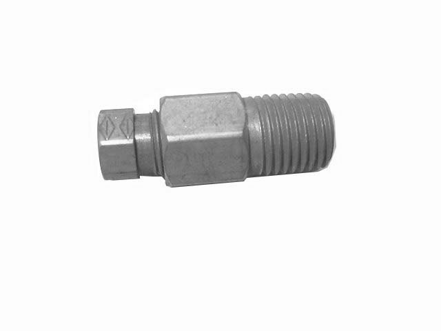 "1/4"" TUBE X 1/4\"" NPT BRASS FITTING"
