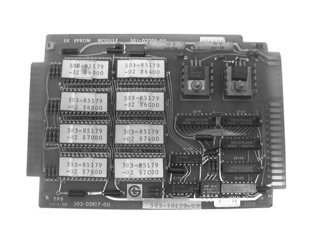 Numeripoint M400 8K EPROM Board - Part no. 502-02817-00 (501-032