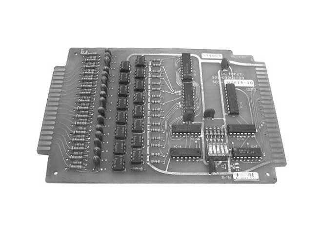 Numeripoint M400 DC Input Board - Part no. 502-02814-16 (501-032