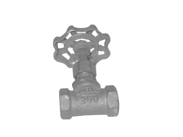 UNITED BRASS WORKS 3/8-NPT NEEDLE VALVE
